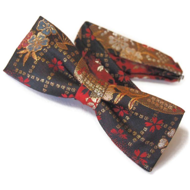 Bow-tie-redblack