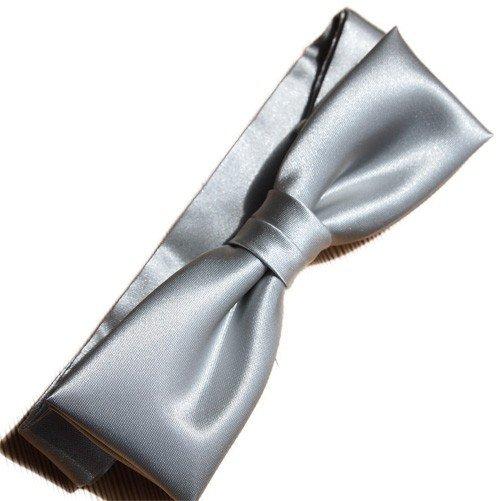 Bow-tie-silver